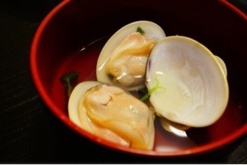 Boiled Hamaguri Clams
