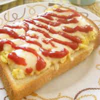 Pizza-style Mayo Egg Toast