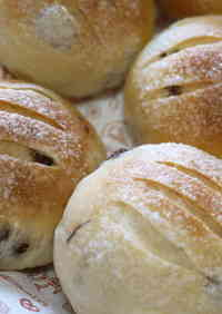 Sugar Raisin Rolls (Made with a Bread Maker)