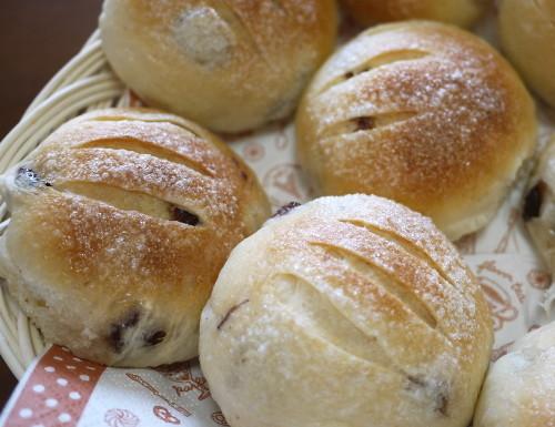 Sugar Raisin Rolls (Made with a Bread Maker)