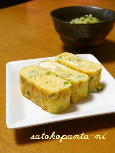 Healthy Almond Tamagoyaki