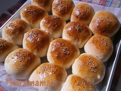 Jam-Packed Cream Buns With Easy Custard Cream Filling