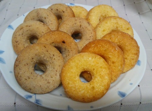 Oil-free Chewy Yogurt Donuts