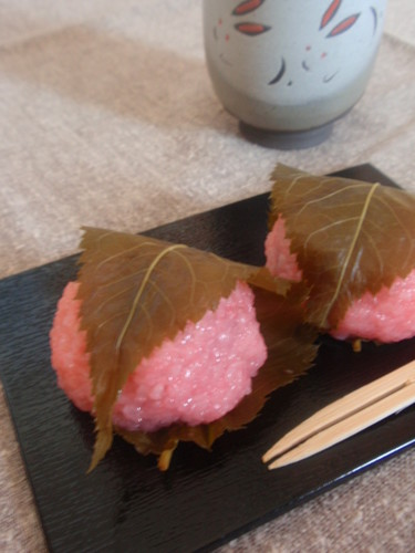 Sakura Mochi (Cherry Blossom Rice Cakes) Made Easily in the Microwave