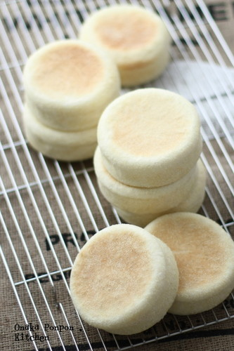 English Muffin with Rice Flour and Soy Milk