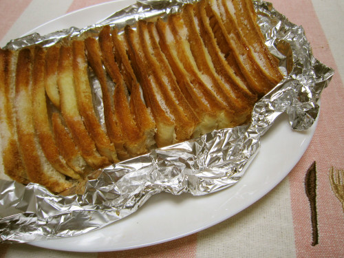 Rusk-style Bread Crusts