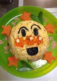 Anpanman Sushi Cake