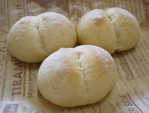 Baby Milk Rolls (with a bread maker)