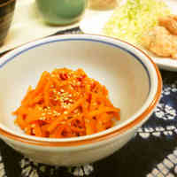 *Carrot Kinpira Stir-fry * For Bento Boxes *