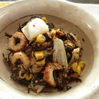 For Bentos: Stir-fried Hijiki Seaweed, Tuna and Chinese Cabbage with Oyster Sauce and Mayonnaise