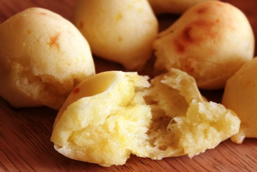 So Chewy! Rice Flour Potato Pao De Queijo