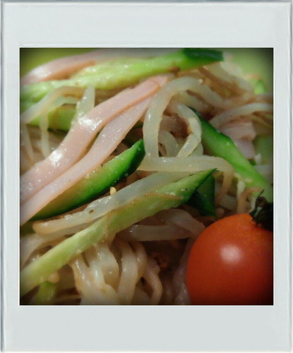 Low Sugar: Bean Sprouts, Cucumber, Ham, with Sesame