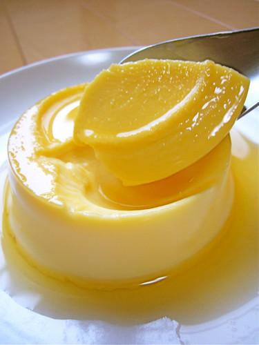 Gelatin Custard Pudding That Children Love