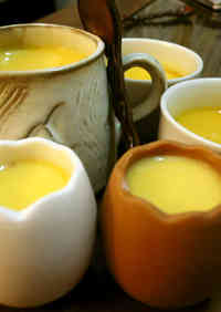 Creamy Smooth Custard Pudding Made Easily in a Pan
