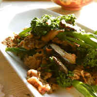 Broccoli and Beef Stir Fry with Mayonnaise and Garlic ♬