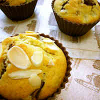 Easy Chocolate Banana Muffins with Pancake Mix (no extra butter or sugar)