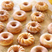 Honey Lemon Yogurt Baked Donuts