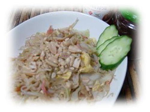Thai Style Rice Vermicelli ★ Pad-Thai-Style Sōmen Chanpuru
