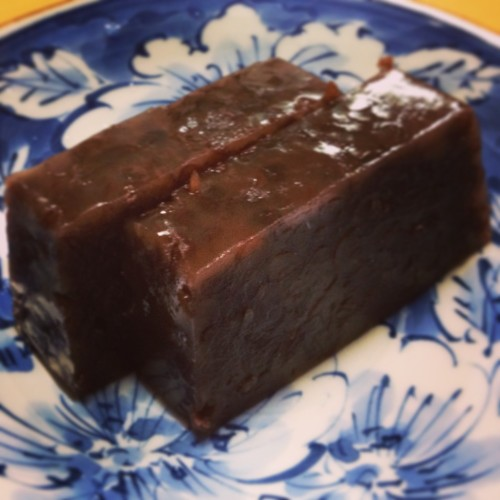 Simple Sweet Bean Jelly Paste