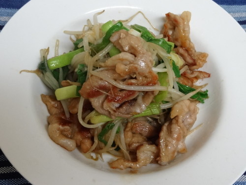 Speedy and Delicious Hearty Pork Offcuts and Bean Sprout Stir-Fry