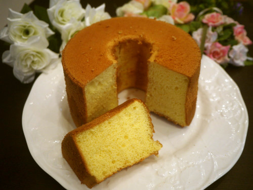 Fluffy Yellow Chiffon Cake