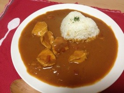 Butter Chicken Curry Using Curry Roux