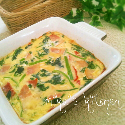 Easy Quiche with Soy Milk