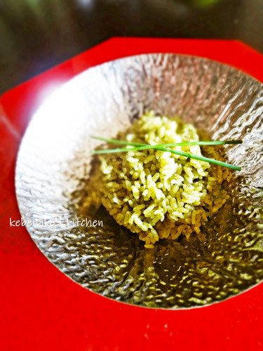 The Best Tea Rice Using Matcha Tea Powder