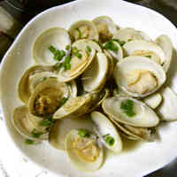 Butter & Sake Steamed Clams