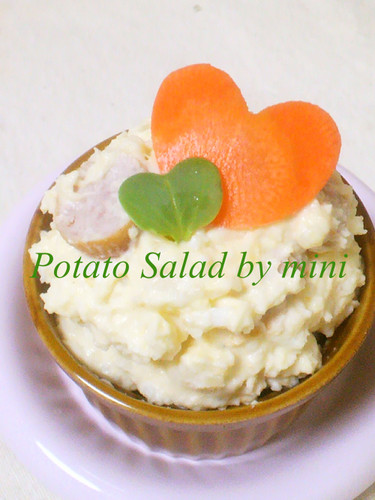 Potato Salad with Hearts