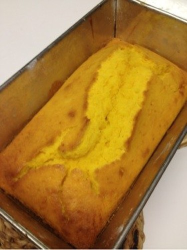 Halloween Kabocha Squash Pound Cake