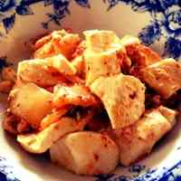 Super Easy for Short-term Diets Kimchi Tofu