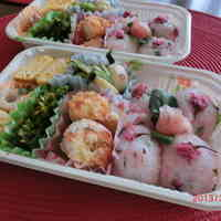 Sakura Rice Balls - Great for Cherry Blossom Viewing