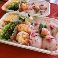 Sakura Rice Balls - Great for Cherry Blossom Viewing