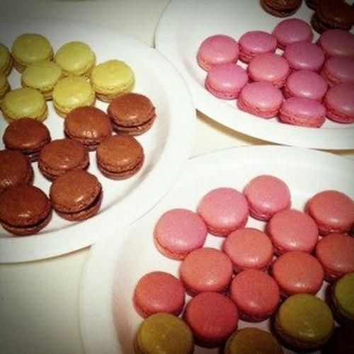 Easy! Matcha Macarons