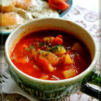 Easy♡Tomato Soup (Minestrone)