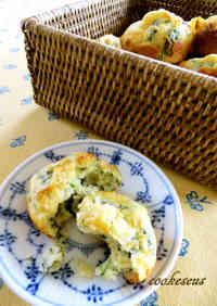Spinach and Parmesan Cheese Muffins