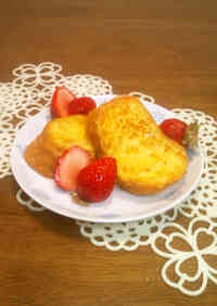 Easy Breakfast -- Baguette French Toast