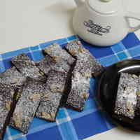 Chewy Brownies with Leftover Okara