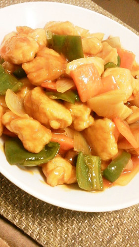 Economical, Healthy and Easy Sweet and Sour Chicken