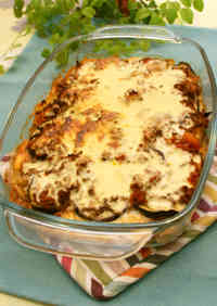 Greek-Style Moussaka with Yogurt