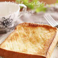Maple Sugar on Toast