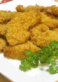 Non-fried Chicken Katsu Made in the Oven