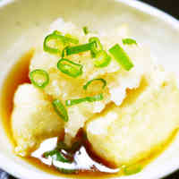 Non-fried Agedashi Tofu with Firm Tofu