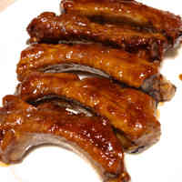 Marmalade Glazed Pork Ribs