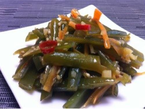 Korean Stir-Fried Wakame Stems
