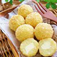 Baked Cheese and Potato Croquettes: Great For Bentos Too!