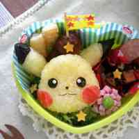 Easy! Cute Pikachu Bento