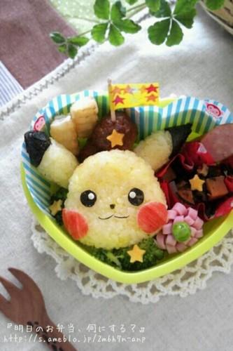 Easy! Cute Pikachu Bento