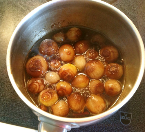 Stewed Onion with Balsamic Vinegar